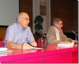 """4-10-2013: Mollerussa. Centre Cultural. Presentació del llibre de Jaume Pubill Gamisans, """"A peu. Caminant a poc a poc s'observa millor la vida"""""""